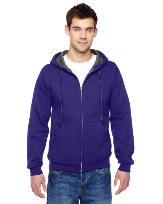 Picture of Fruit of the Loom SF73R Adult 7.2 oz. SofSpun Full-Zip Hooded Sweatshirt