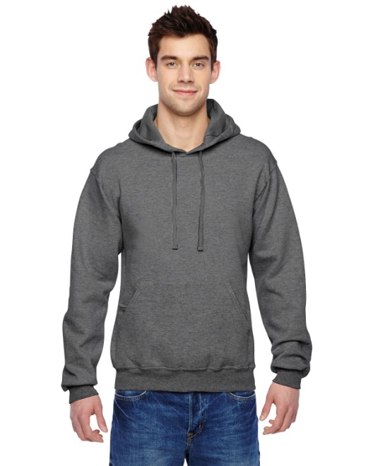 Picture of Fruit of the Loom SF76R Adult 7.2 oz. SofSpun Hooded Sweatshirt