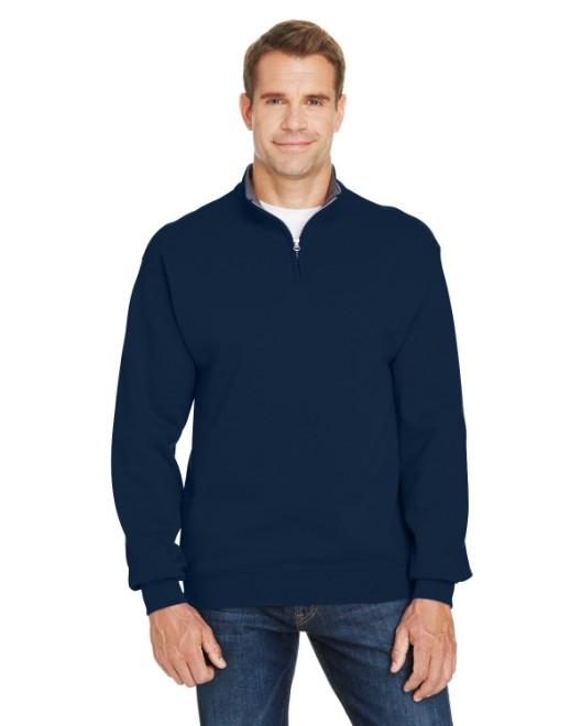 Picture of Fruit of the Loom SF95R Adult 7.2 oz. Sofspun Quarter-Zip Sweatshirt