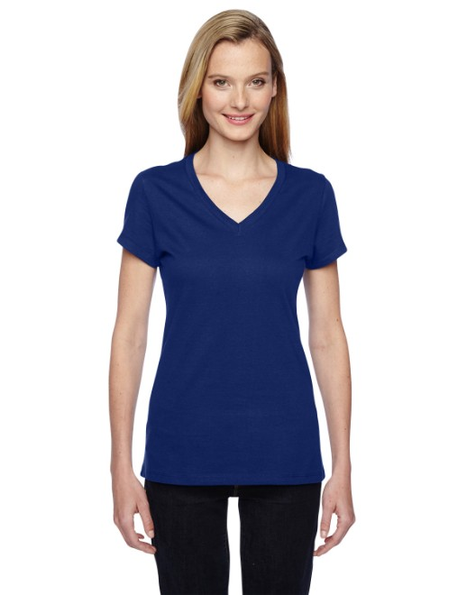 Picture of Fruit of the Loom SFJVR Womens 4.7 oz. Sofspun Jersey Junior V-Neck T-Shirt