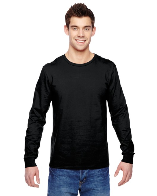 Picture of Fruit of the Loom SFLR Adult 4.7 oz. Sofspun Jersey Long-Sleeve T-Shirt