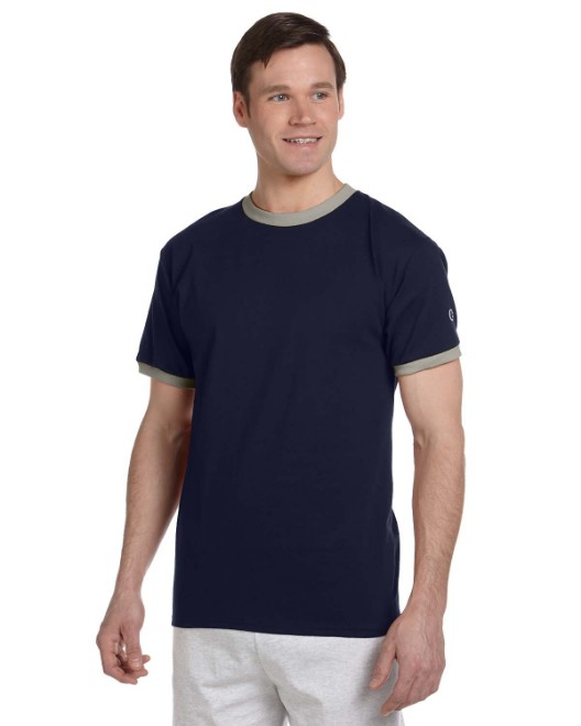 Picture of Champion T1396 Adult 5.2 oz. Ringer T-Shirt