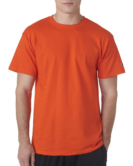 f5e0531fb Picture of Champion T525C Adult 6 oz. Short-Sleeve T-Shirt