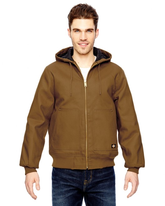 Picture of Dickies TJ718 Men's 10 oz. Hooded Duck Jacket