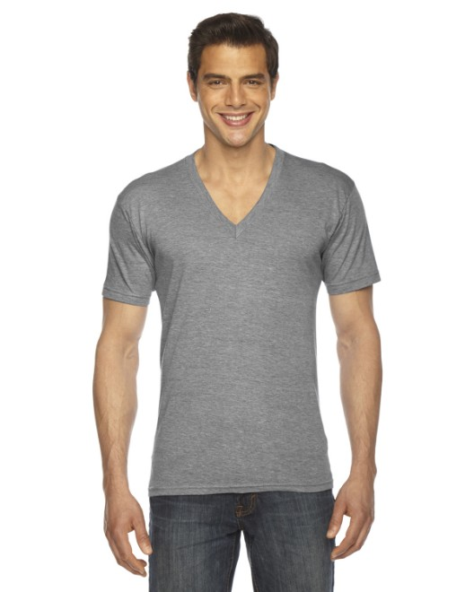Picture of American Apparel TR461W Unisex Triblend Short-Sleeve V-Neck