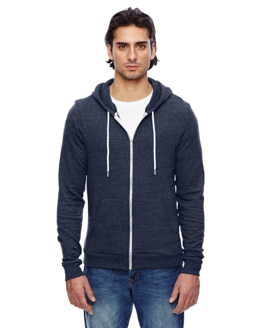 Picture of American Apparel TRT497W Unisex Triblend Full-Zip Hoodie