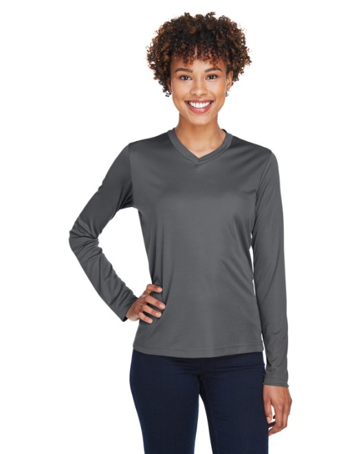 Picture of Team 365 TT11WL Womens Zone Performance Long-Sleeve T-Shirt