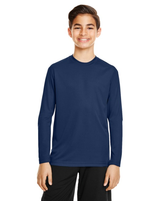 Picture of Team 365 TT11YL Youth Zone Performance Long-Sleeve T-Shirt