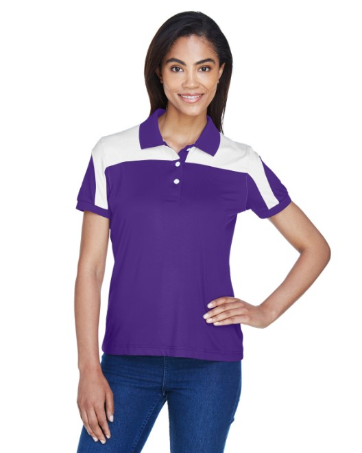 Picture of Team 365 TT22W Womens Victor Performance Polo