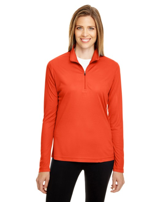 Picture of Team 365 TT31W Womens Zone Performance Quarter-Zip