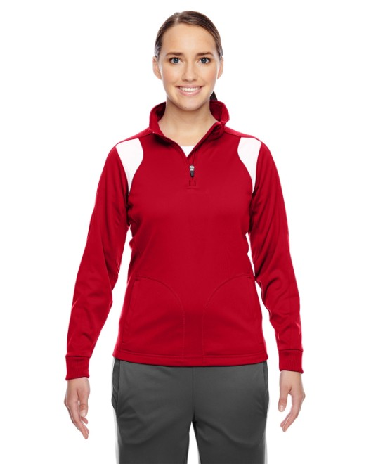 Picture of Team 365 TT32W Womens Elite Performance Quarter-Zip