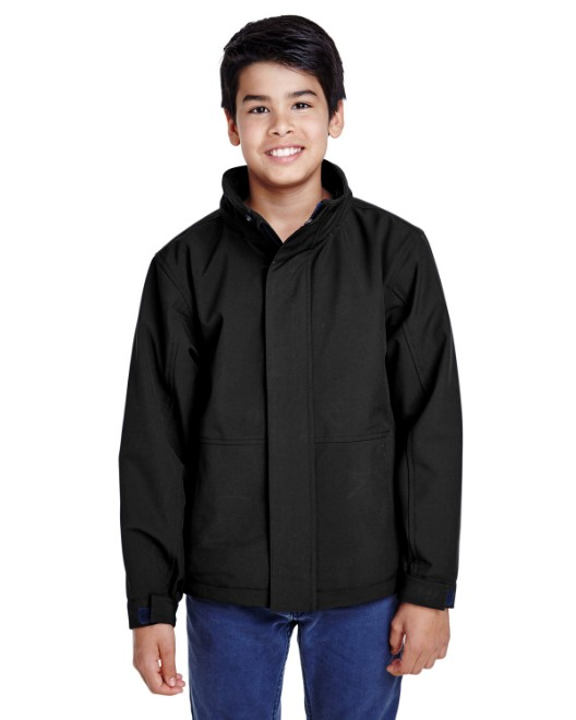 Picture of Team 365 TT88Y Youth Guardian Insulated Soft Shell Jacket