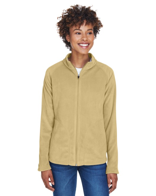 Picture of Team 365 TT90W Womens Campus Microfleece Jacket