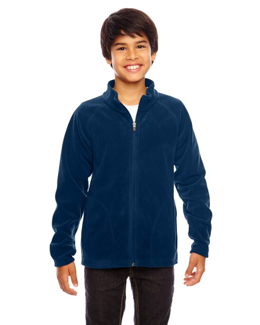 Picture of Team 365 TT90Y Youth Campus Microfleece Jacket