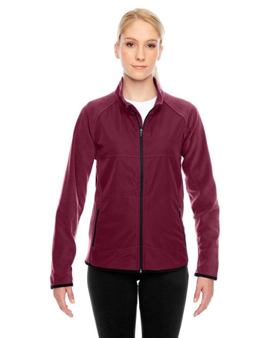 Picture of Team 365 TT92W Womens Pride Microfleece Jacket