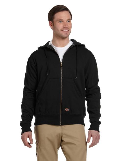 Picture of Dickies TW382 Men's 470 Gram Thermal-Lined Fleece Hooded Jacket