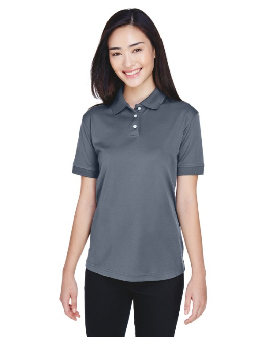 Picture of UltraClub U8315L Womens Platinum Performance Pique Polo with TempControl Technology