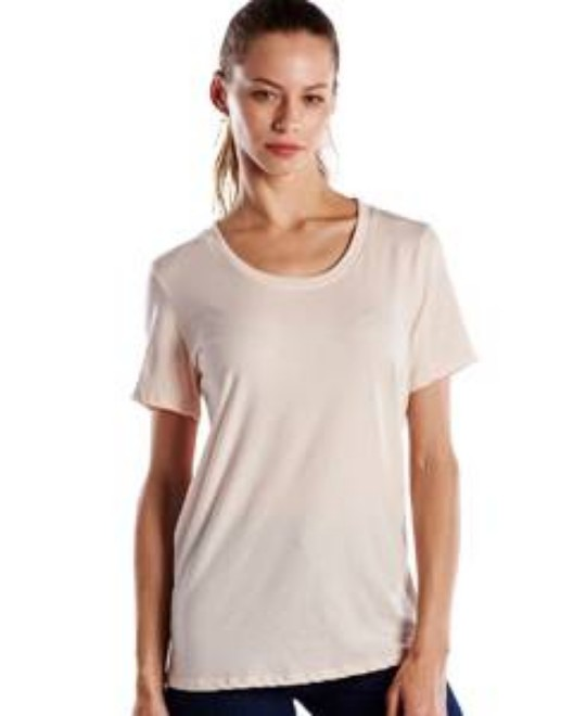 Picture of US Blanks US115 Womens Short-Sleeve Loose Fit Boyfriend Tee