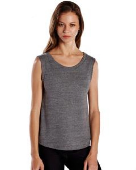 Picture of US Blanks US116 Womens Made in USA Muscle Tank Top
