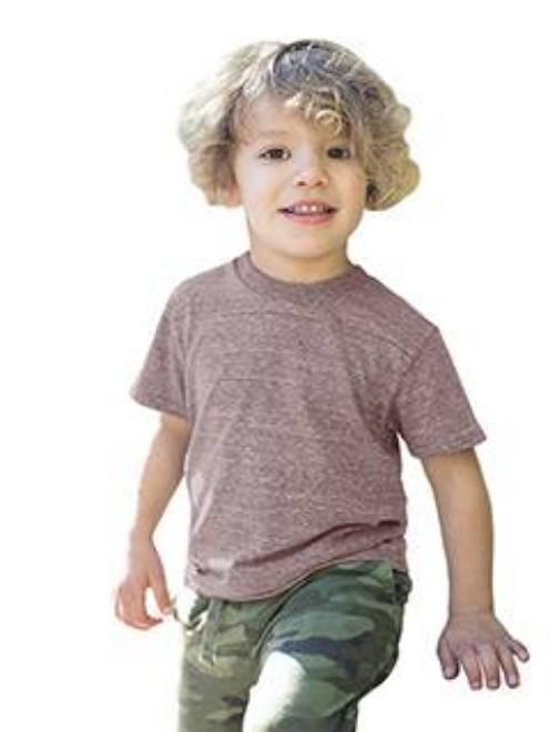 Picture of US Blanks US2500K Toddler Tri-Blend Crewneck T-Shirt