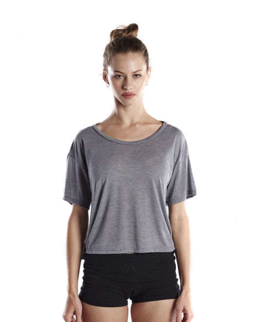 62e8ebc7 Picture of US Blanks US309 Womens 4.2 oz. Boxy Open Neck Top