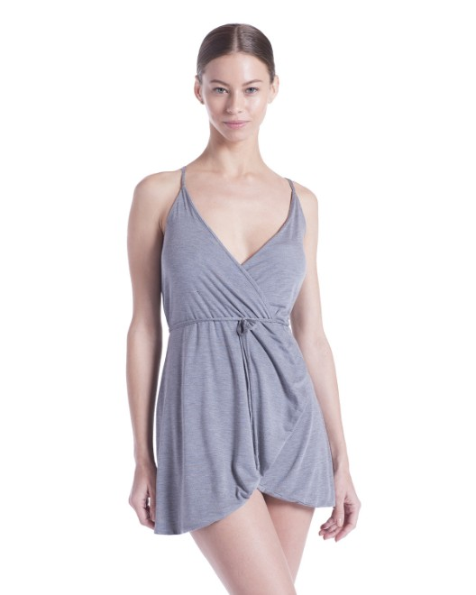 Picture of US Blanks US582 Womens Modal Wrap Dress