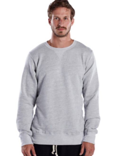 Picture of US Blanks US8000 Men's Long-Sleeve Pullover Crew