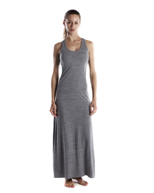 Picture of US Blanks US976 Womens 4.9 oz. Triblend Racerback Dress