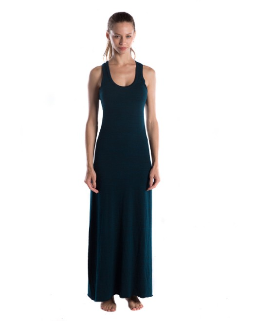 Picture of US Blanks US976OD Womens 5.2 oz. Triblend Racerback Over-Dyed Dress