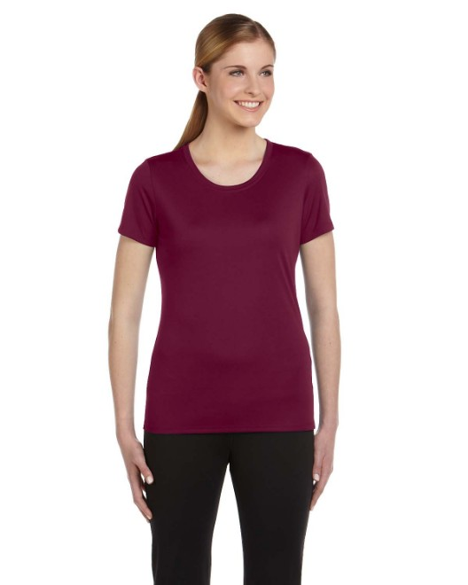 Picture of All Sport W1009 Ladies' Performance Short-Sleeve T-Shirt
