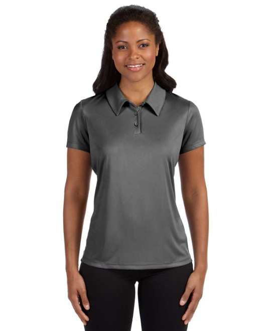 Picture of All Sport W1809 Ladies' Performance Three-Button Polo