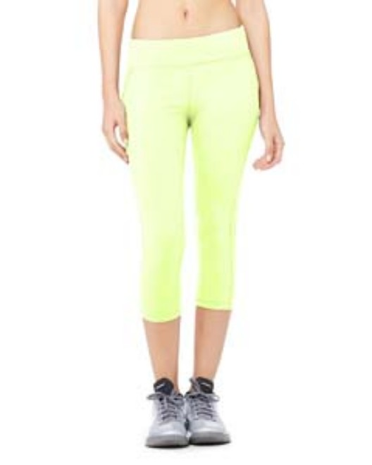 Picture of All Sport W5009 Womens Capri Legging
