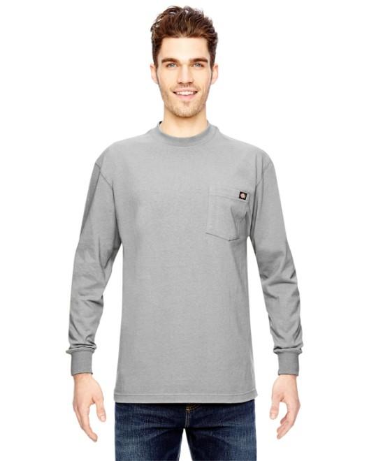 Picture of Dickies WL450 Men's 6.75 oz. Heavyweight WorkLong-Sleeve T-Shirt