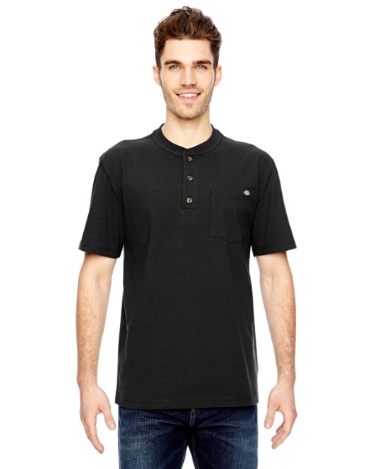 Picture of Dickies WS451 Men's 6.75 oz. Heavyweight Work Henley