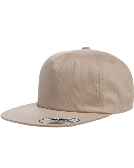 Picture of Yupoong Y6502 Adult Unstructured 5-Panel Snapback Cap