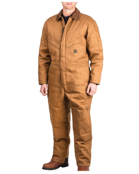 Picture of Walls Outdoor YV318T Men's Tall Zero-Zone  Duck Insulated Coverall